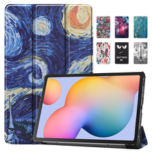 Case Tablet Cover for New Samsung Galaxy Tab S6 Lite 10.4 2020 PU Leather Stand Cover for Samsung Galaxy Tab S6 Protective Case стоимость