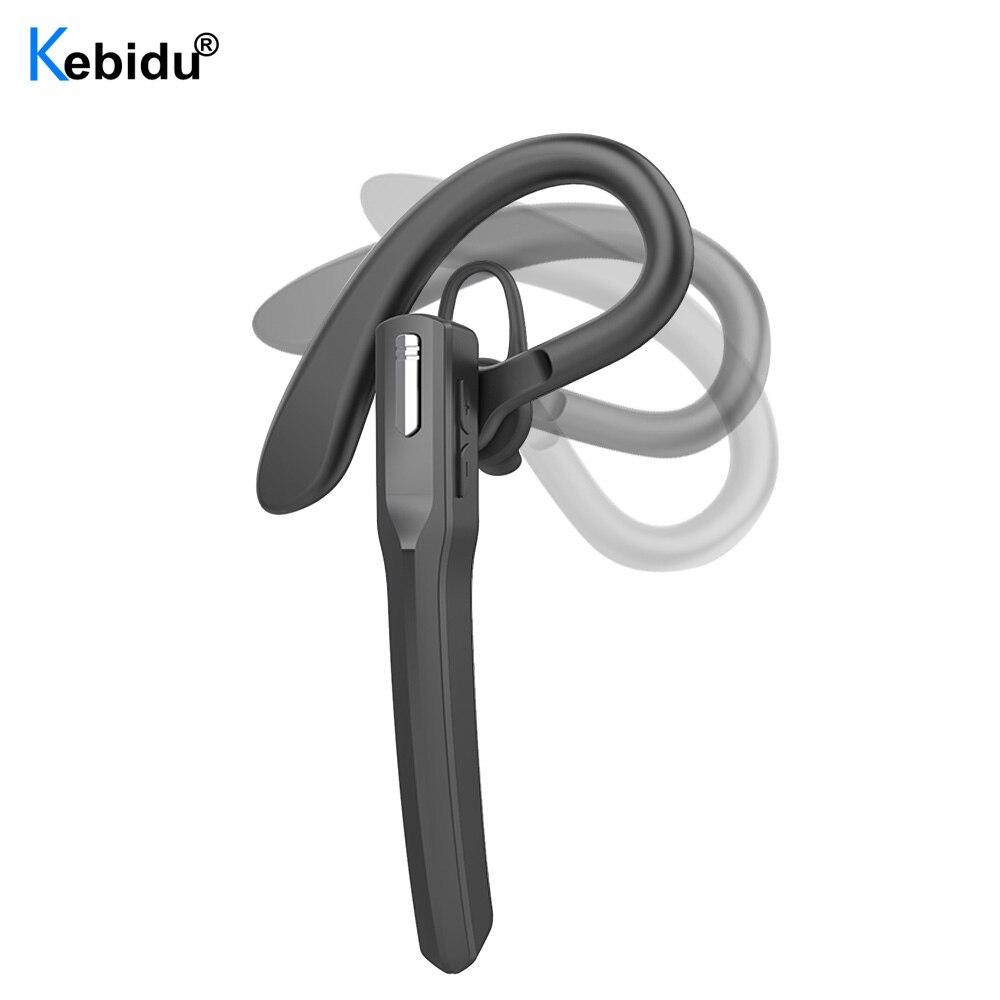 Беспроводная Bluetooth-гарнитура, деловые наушники без использования рук, V5.0, наушники IPX4, водонепроницаемые спортивные наушники с микрофоном