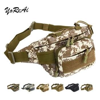 цена на YoReAi Outdoor Fanny Bags Hot Travel Bag Bumbag Waist Money Belt Passport Wallet Zipped Security Pouch Camouflage Waist Packs