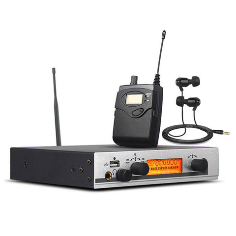 Sistema de Monitoramento da Orelha sem Fio Transmissor para a Fase Finlemho Profissional Áudio Único dj Mixer Console Linha Disposição Alto-falante no