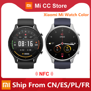 Смарт-часы Xiaomi с цветным GPS, модный спортивный браслет с NFC, 1,39 дюйма, Bluetooth 5,0, Смарт-часы, фитнес-трекер, монитор сердечного ритма