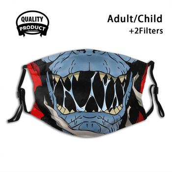 Mumm-Ra Anti Dust With Filter For Kids Girl Boy Teens Masks He Man Masters Of The Universe Skeletor Man At Arms Greyskull image
