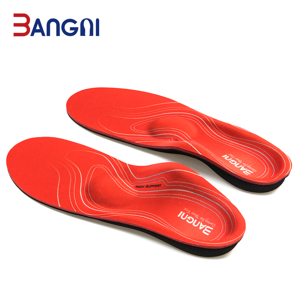 Ayakk.'ten Tabanlıklar'de 3ANGNI ortez arch destek tabanlık düz ayak ortopedik ayakkabı astarı erkek kadın insolent ayakkabı yastık Plantar fasiit title=