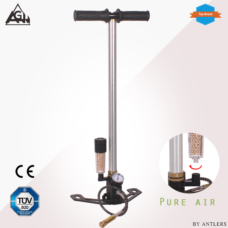 New 4500PSI 30mpa Airgun Air Rifle High Pressure Pcp Hand Pump With Dry Air System Filter Airsoft Paintball Pump Not Hill Pump