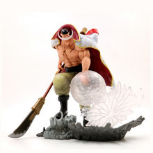 One Piece Action Figure BIANCO BARBA Pirati Edward Newgate figura del PVC di Un Pezzo Sculture il TAG team Anime Figure Giocattoli Giapponese(China)