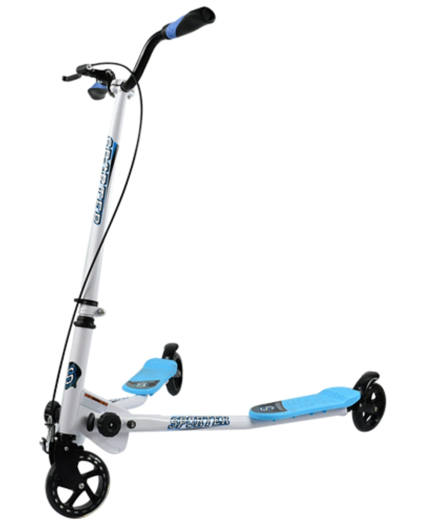 Handlebar Scooters Outdoorsports Foldable Children with Height-Adjustable for Swing-Wiggle
