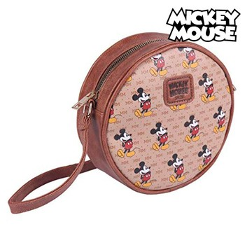 Shoulder Bag Mickey Mouse (18 x 18 x 5 cm) educational game natural wood 1 5 x 18 x 41 cm 104 pieces