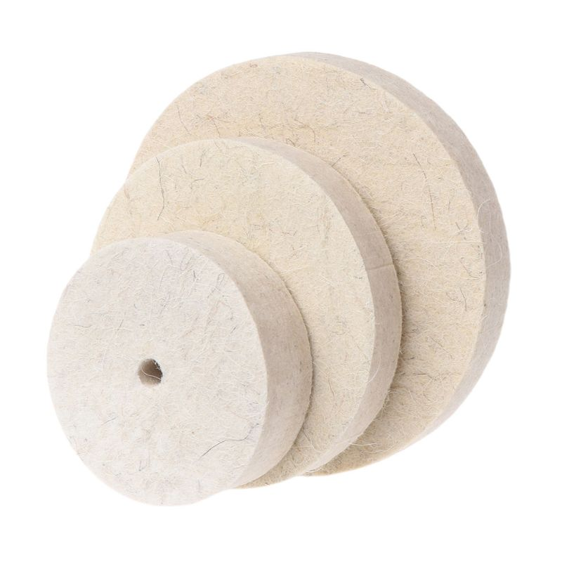 Drill Grinding Wheel Buffing Wheel Felt Wool Polishing Pad Abrasive Disc For Bench Grinder Rotary Tool