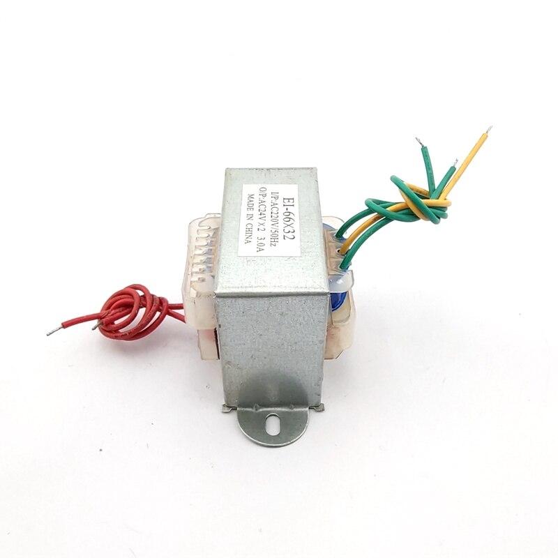 EI 66*32 30W  Input AC 220V Output AC 12V-0-12V Power Transformer