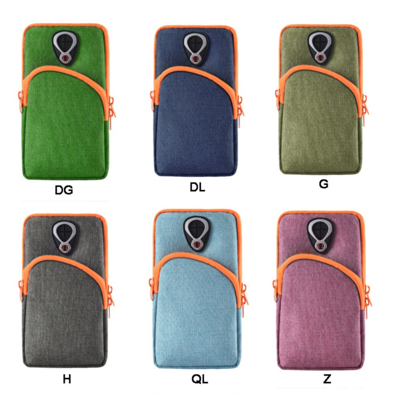 Running Arm Mobile Phone Wrist Bag Cover Smartphone Wallet Holder Waterproof Outdoor Sport Equipment Fitness Accessory