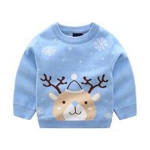 Милые детские свитера детский Рождественский милый свитер с