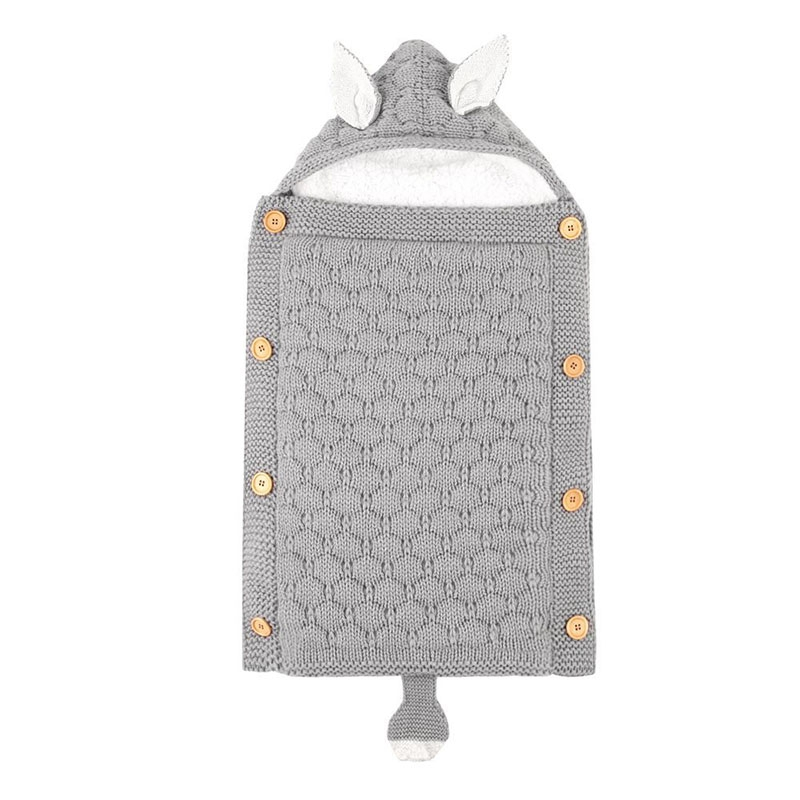 Newborn Baby Stroller Sleeping Bag Cartoon Fox Envelope Autumn Woven Baby Small Babe Bag Sleeping Bag Baby