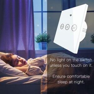 Image 2 - WiFi חכם וילון עיוור מתג חשמלי ממונע Tuya וילון רולר תריס עובד עם Alexa הד Google בית חכם בית