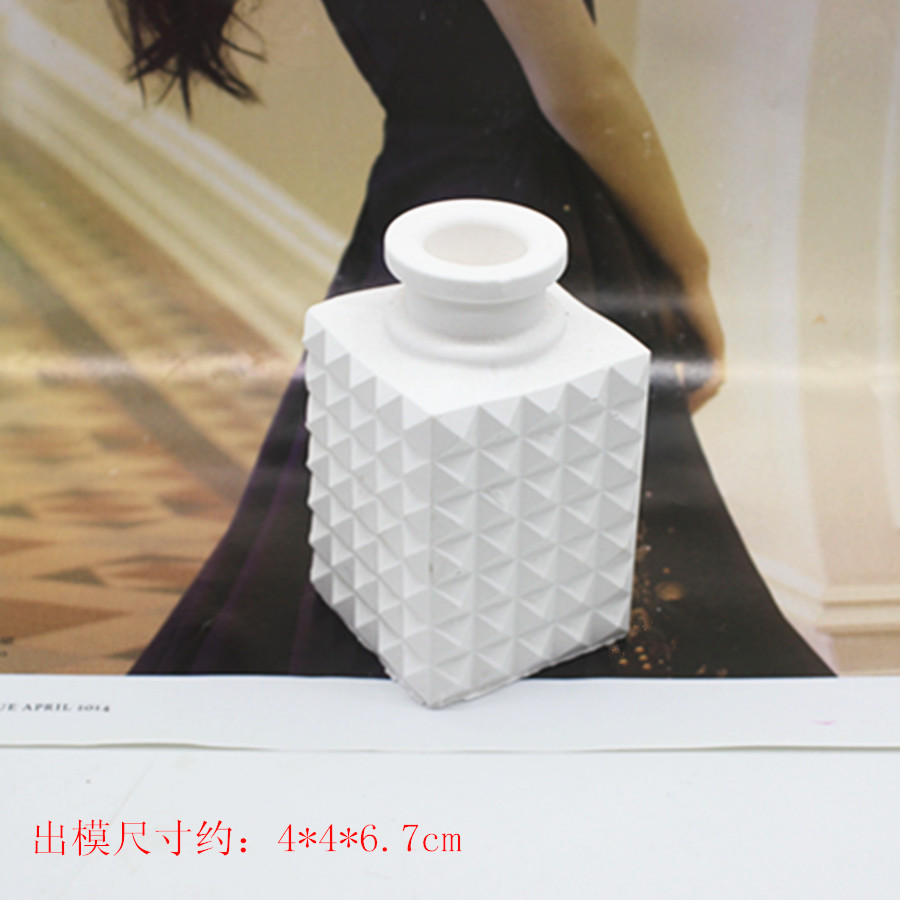 3d Candle Mould Scented Plaster Craft Bottle Silicone Candle Mold