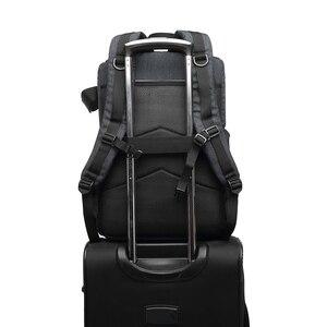 Image 3 - Mochila multifuncional à prova d água, bolsa para câmera, mochila portátil, grande capacidade, para fotografia externa