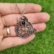 Gothic Seal Sigil of Lilith Necklace Satan Pagan Jewelry