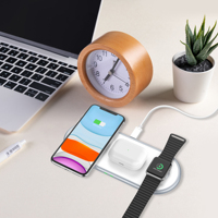 3 In 1 QI Fast Wireless Charger 10W for Apple Watch Airpods 2 Pro Wireless Charging Pad  for Apple iPhone 11 Pro Max XR 8 Plus