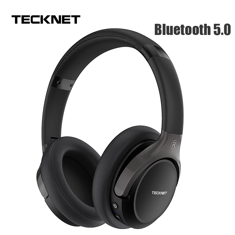 TeckNet Faltbare <font><b>Bluetooth</b></font> 5,0 Kopfhörer mit Mic Wireless <font><b>Bluetooth</b></font> Headset Noise Cancelling Hallo-fi Stereo <font><b>bluetooth</b></font> Kopfhörer image