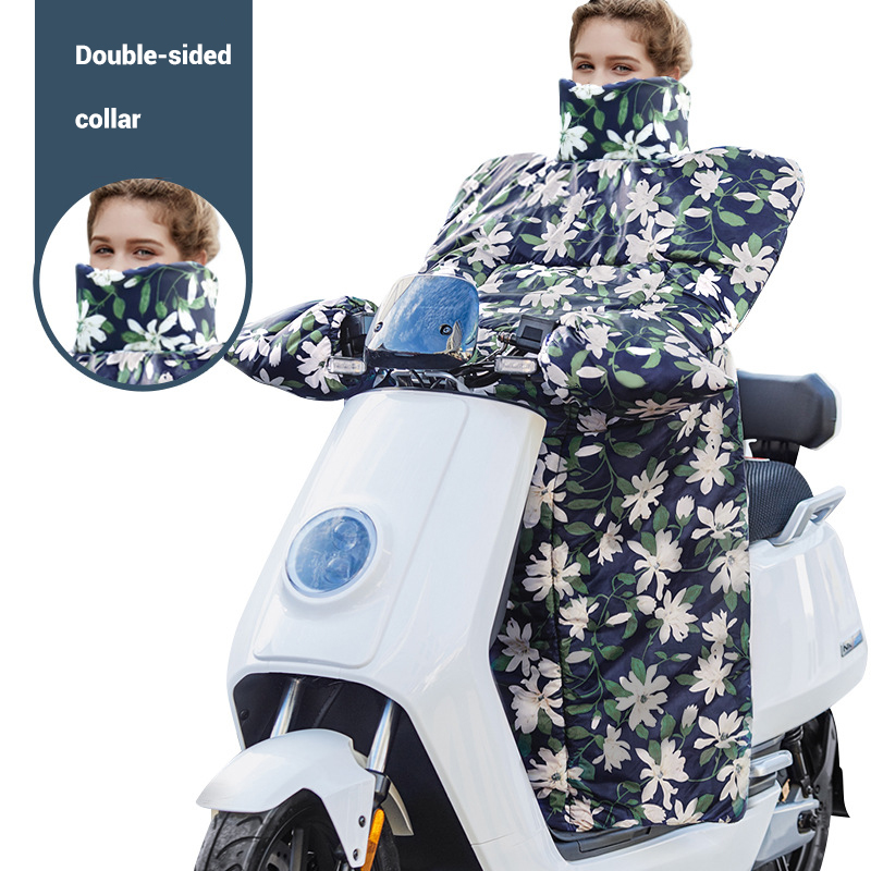 2019 New Winter Windproof Motorcycle Cover Keep Warm Motorcycle Windshield Cover Waterproof Motorbike Windshield Liner