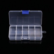 Durable And Good Quality 10/15/24/36 Plastic Compartment Jewelry Adjustable Organizer Storage Box Case