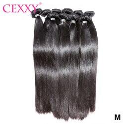 Tissage en Lot brésilien Remy lisse, extensions de cheveux naturels, 30 ou 40 pouces, vente en gros, 1 pièce/3 pièces/10 pièces par Lot