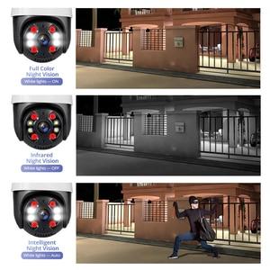 Image 5 - KERUI 야외 방수 무선 3MP 와이파이 IP 카메라 돔 4X PTZ 디지털 줌 IR 카메라 홈 보안 Onvif CCTV 감시