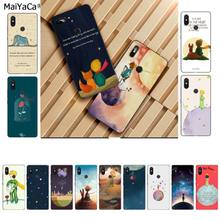 Funda para teléfono MaiYaCa The Little Prince novedad funda para Xiaomi 8 9 se Redmi 6 Pro 6A 4X7 note 5 7(China)