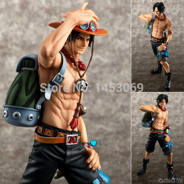 Anime One Piece POP DX Fire ACE Portgas D Ace 10th Anniversary Special Edition PVC Action Figure One Piece Collectible Model Toy 1