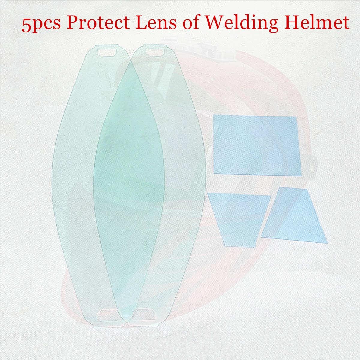 Protect Lens Front Inner Cover Lens 5pcs/set For 3 View Window Auto Darkening Welding Mask CE ANSI CSA AS/NZS Welding Helmet