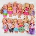 10 шт./лот Simba кукла с одеждой 11 см мини куклы Келли Игрушки для девочек подарок на день рождения