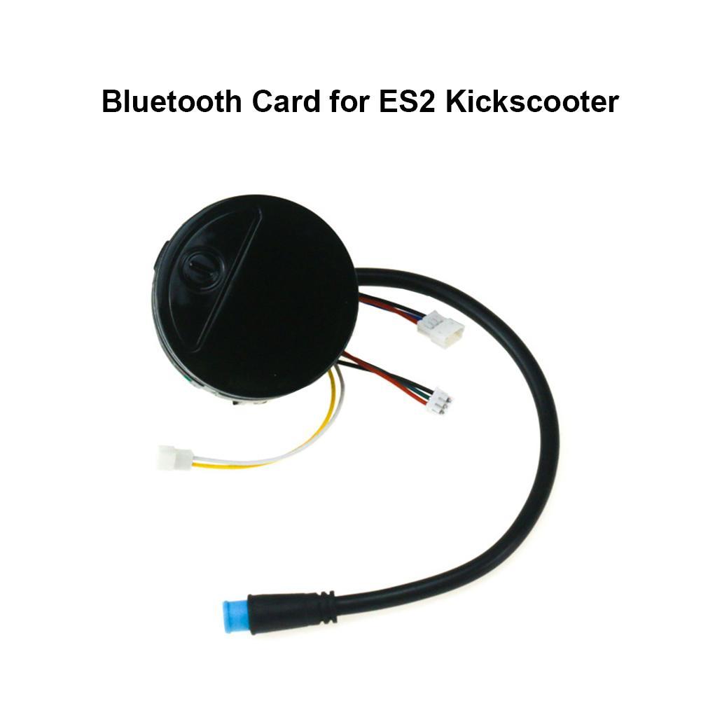 Подходит для хлопчатобумажная пряжа Segway ES2/ES1/ES3/ES4 электрические самокатов Bluetooth Управление доска Карта BT № 9 скутер линии инструмент Панель
