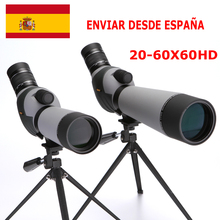 2019  GOMU 20-60X60 Zoom Spotting Scope with Tripod and phone adapter for shootin Bird Watching Monocular Telescope  Bak4 prism стоимость