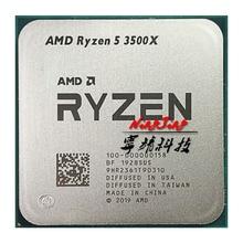 AMD Ryzen 5 3500X R5 3500X 3.6 GHz 6 코어 6 스레드 CPU 프로세서 7NM 65W L3 = 32M 100 000000158 소켓 AM4