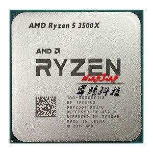 Image 1 - Процессор AMD Ryzen 5 3500X R5 3500X 3,6 ГГц, шестиядерный процессор с 6 потоками, 7 нм, 65 Вт, L3 = 32 м, 100 000000158 разъем AM4