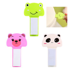 Cute Cartoon Toilet Seat Lifters Portable Cover Lifting Device Bathroom Lid Handle Sticker Sanitary Handles