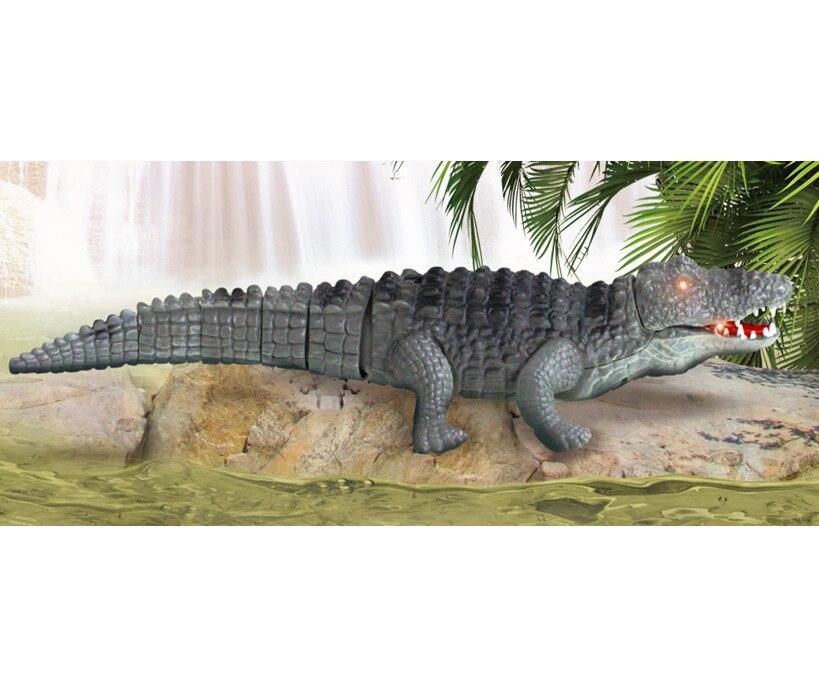 Strange New 9985 Remote Control Electric Crocodile Model Popularization Of Science Animal Model Early Education Children'S Educa