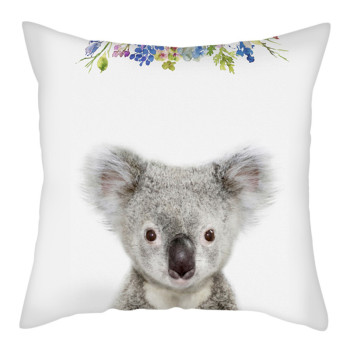 Baby koala cushion cover