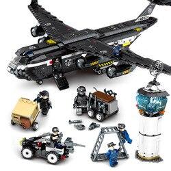 Speelgoed Voor Kinderen Speciale Team Grote Transport Model Kit Compatibel Legoing Educatief Gemonteerd Bouwstenen Kinderen Geschenken I77