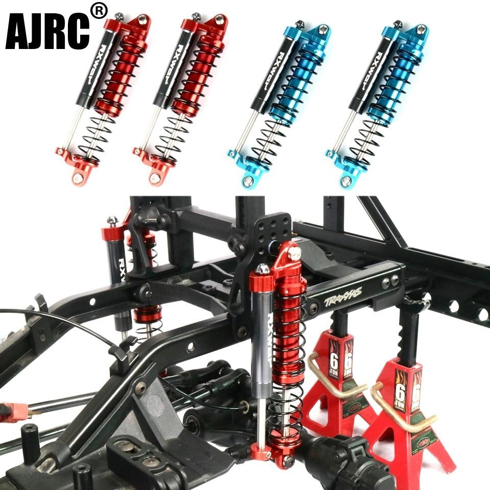 Adjustable oil L=93MM metal negative pressure shock absorber double damper for 1/10 RC Car Parts Truck Crawler SCX10 TRX-4 D90