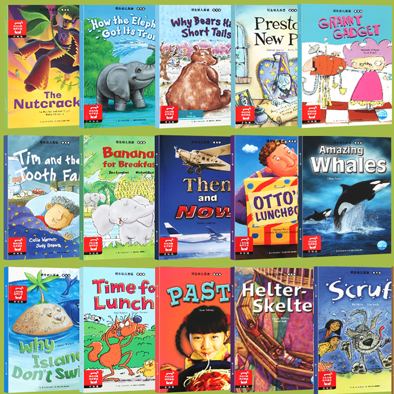 Random 6 Books 21x15cm English Enlightenment Storybook Children Color Picture Books Reading Story Book For Kids Bedtime Stories