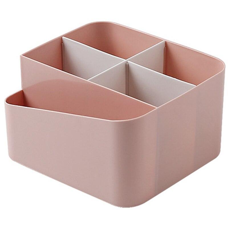 Ev ve Bahçe'ten Makyaj Organizatörleri'de Moda makyaj organizatör saklama kutusu masası ofis organizatör kozmetik cilt bakımı plastik depolama çekmecesi mücevher kutusu saklama kutusu veya title=