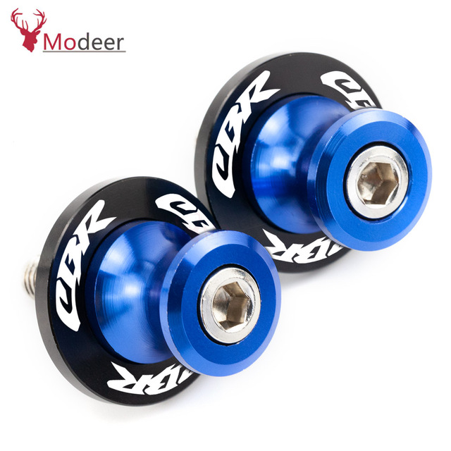 8MM Motorcycle Accessories stands screws Swingarm Spools slider for HONDA CBR 600 900 1000 RR 250R 300R 954RR CB919 600RR CB500R