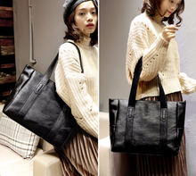 2020 Autumn And Winter New Style Europe And America Handbag Shoulder Bag Tote Bag Shoulder Simple Big Bag handbag(China)