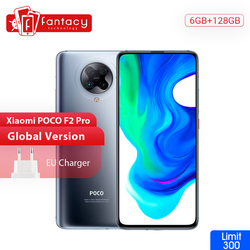 "In Stock Global Version Xiaomi POCO F2 Pro 5G Smartphone 6G128G/8G256G Snapdragon 865 64MP Quad Cam 6.67"" Mobile Phone 4700mAh"