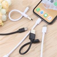 20 سنتيمتر قصيرة مايكرو USB كابل نوع c تاريخ كابل سريع مزامنة البيانات الحبل USB محول كابل ل فون سامسونج Xiaomi هواوي