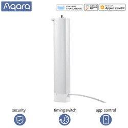 Aqara, Motor de cortina inteligente Zigbee, Control por aplicación, temporizador inalámbrico, Motor de cortina eléctrica, Smart Home