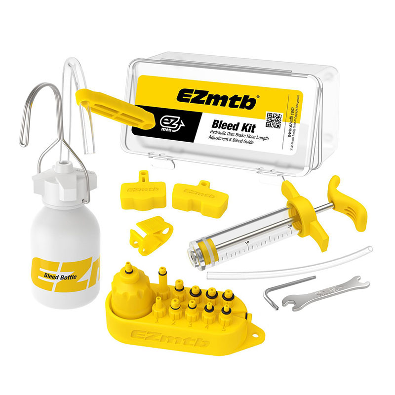 EZMTB Bleed Kit Universal Bicycle Hydraulic Disc Brake Tool Mineral Oil For Shimano/magura/sram/avid/tektro/hayes/giant/formula