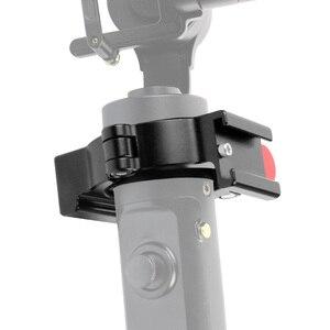 Image 2 - Новинка, 4 кольцевой адаптер для горячего башмака, Кольцевое крепление для микрофона для Zhiyun Smooth 4 ручки, шарнирный стабилизатор, светодиодный аксессуар для видеосъемки