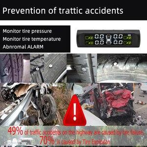 Image 5 - SINOVCLE Car TPMS Tire Pressure Alarm Monitor System Internal / External Tire Temperature Sensor Wireless Pressure Sensor