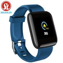 Inteligentny zegarek mężczyźni kobiety ciśnienie krwi tętno Tracker do monitorowania aktywności fizycznej krokomierz bransoletka Smartwatch dla androida Apple watch